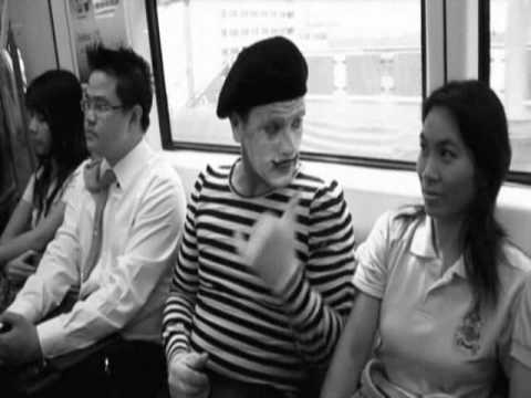 World Famous Scottish Mime Artists in Bangkok, Thailand