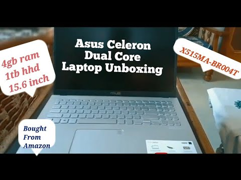 ASUS Celeron Dual Core X515MA-BR004T Thin and Light Laptop Unboxing