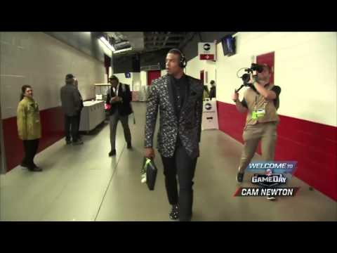 Cam Newton Arrives At Levi