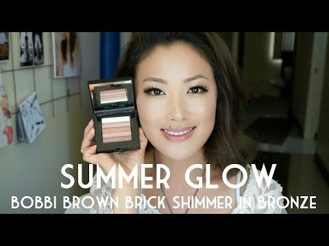 c02cd2289c2b Summer Glow  Bobbi Brown Shimmer Brick in Bronze - YouTube