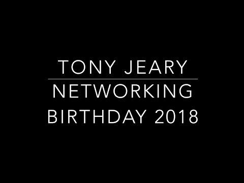 Tony Jeary Networking Birthday Party 2018