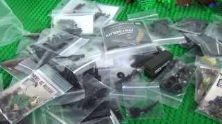 ОЧЕНЬ много Лего оружия (брикармса)! / Lego brickarms - a huge amount of brick weapons!
