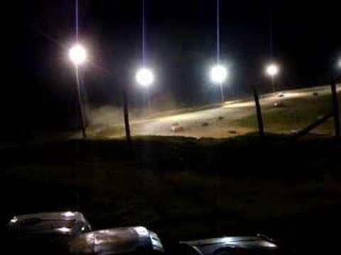 Shadyhill Speedway Bare Foot Mini 1st Feature race