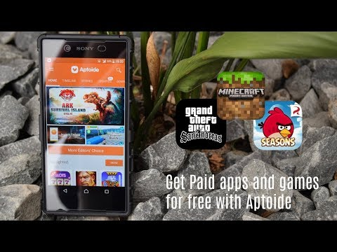 Paid Apps & Games On Android For Free With Aptoide