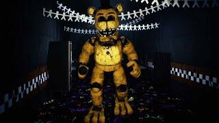 I Found FREDBEARS Secret BACKSTAGE Room.. Now he's CHASING AFTER ME!   FNAF Project Fredbear Reboot