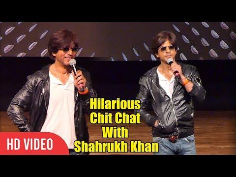 Hilarious Chit Chat With Shahrukh Khan | Shahrukh Khan 54th Birthday Celebration Mp3