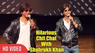Hilarious Chit Chat With Shahrukh Khan | Shahrukh Khan 54th Birthday Celebration