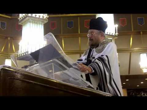 1st Slichot Service at the Jerusalem Great Synagogue
