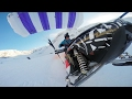 GoPro:  Snowmobile Paragliding