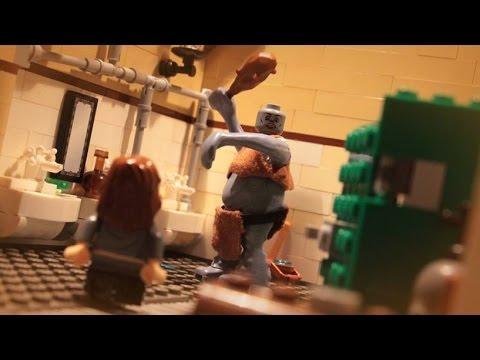 Lego Harry Potter Troll In The Bathroom Youtube