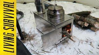 First Burn: Seek Outside Titanium Wood Stove