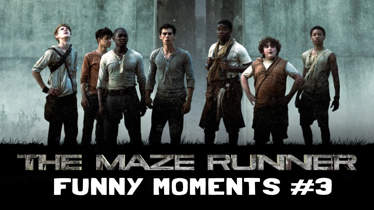 The Maze Runner Cast Funny Moments: PART 3 - YouTube