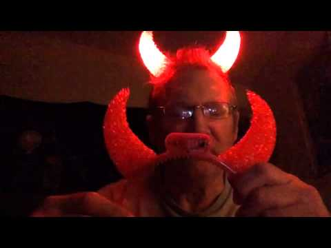 light up devil horns youtube. Black Bedroom Furniture Sets. Home Design Ideas
