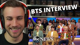BTS English interview on Good Morning America - Reaction