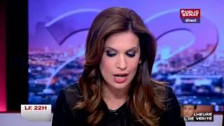 Le 22h - Invités : François Rebsamen, Gérard Larcher, Hervé Baudry, Claude Weil