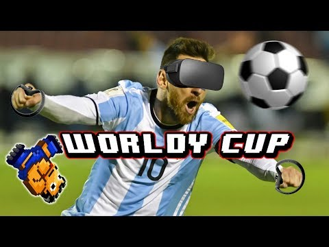 EL FIFA DE LA REALIDAD VIRTUAL - Worldy Cup VR - Oculus Rift + Touch