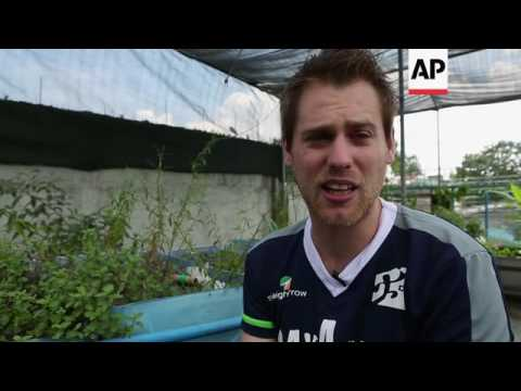 Urban aquaponic farming in Philippines