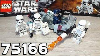 Обзор LEGO Star Wars 75166 - First Order Transport Speeder Battle Pack (Спидер Первого ордена)