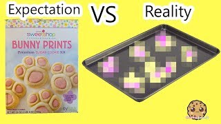 Bake At Home Sugar Cookies Expectation vs Reality Real Food Cooking Video