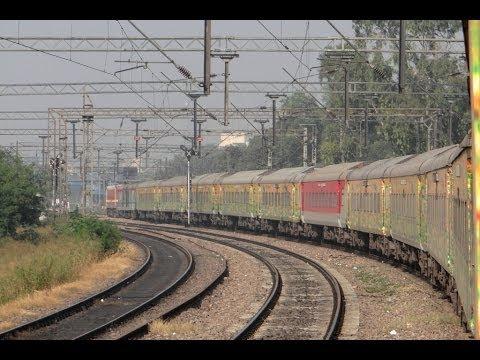 Kanpur New Delhi High Speed Run in India's Fastest Duronto - Sealdah New Delhi Duronto Express.