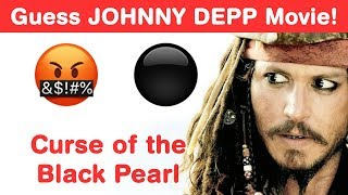 Johnny Depp Emoji Challenge! Guess Hollywood Movies