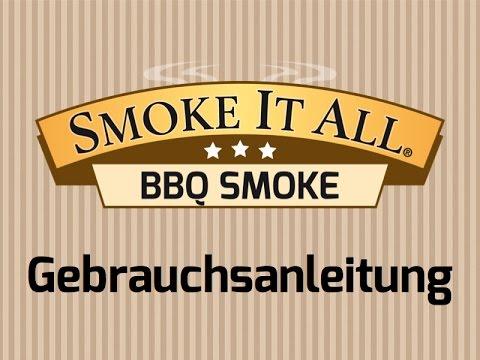 Smoke It All - Gebrauchsanleitung