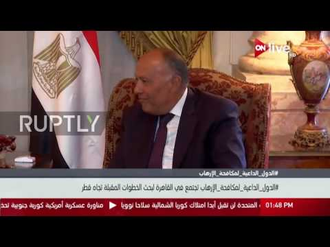 Egypt: Qatar crisis meeting between Saudi, UAE, Egypt and Bahrain held in Cairo