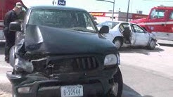 VIDEO:Accident at 13th and Hwy 281