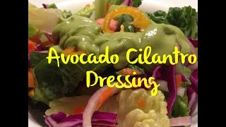 Avocado Cilantro Dressing It's Super Saucy Sunday