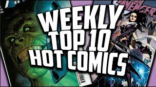 Hot Top 10 Comic Books On The Rise - MARCH (Week 3) 2019