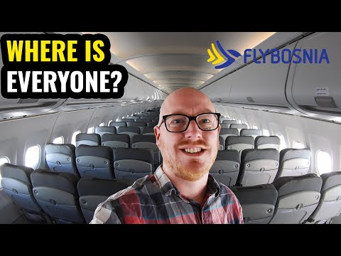 My BIZARRE Flight To SARAJEVO With FLYBOSNIA!