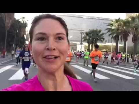 My Barefoot LA Marathon Experience