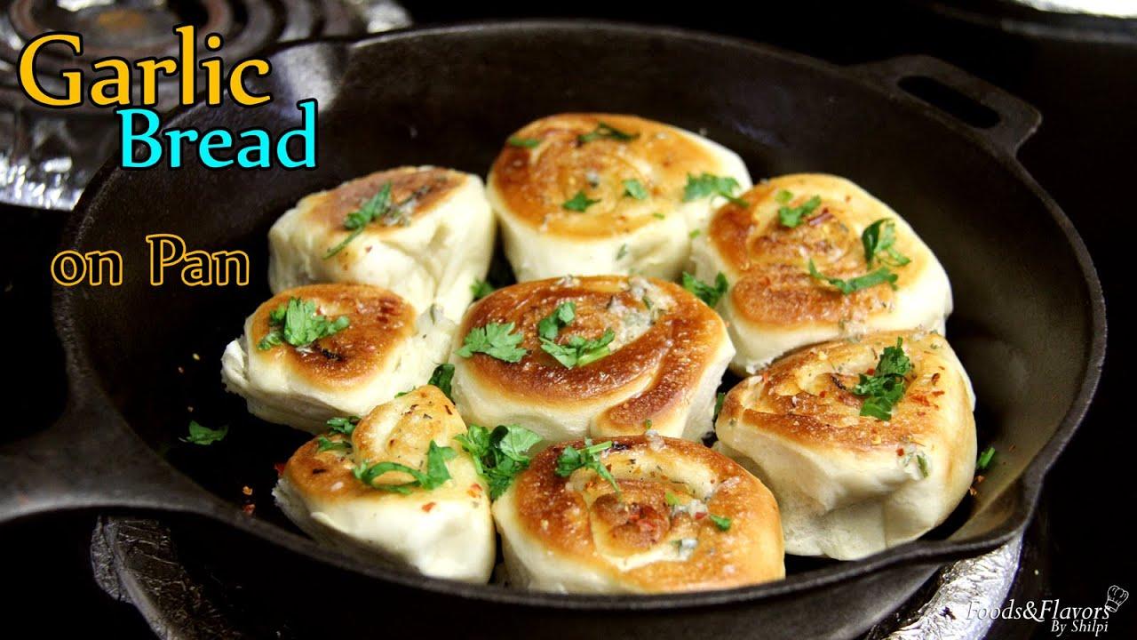 No Oven Garlic Bread Recipe