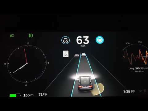 Tesla Software v8.0 – Autopilot Initial Impressions