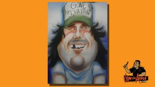 How to Draw Caricatures-Finding Bigfoot Bobo Part 2