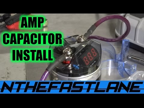 "▶️Amplifier Capacitor Installation ""How To""⚡"