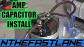 How to install a car audio capacitor - YouTube