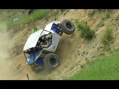 Extreme 4 wheel driving championships action.