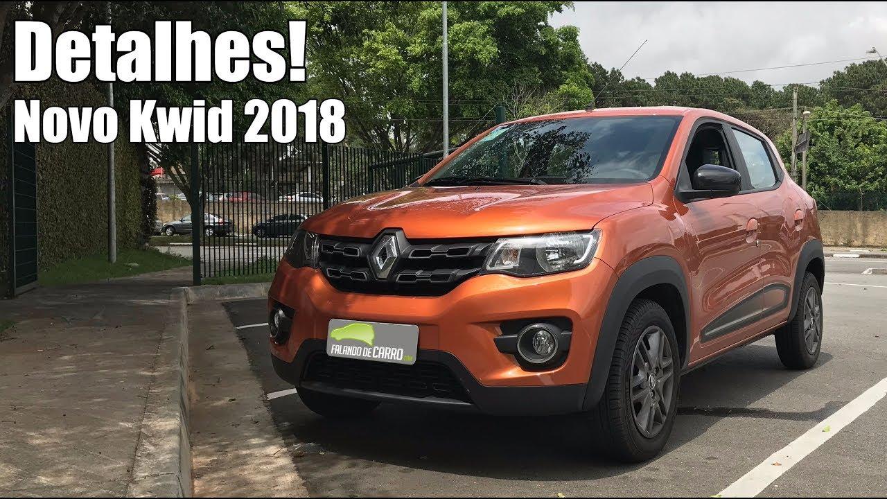 Renault Kwid 2018 Intense em detalhes - Falando de Carro