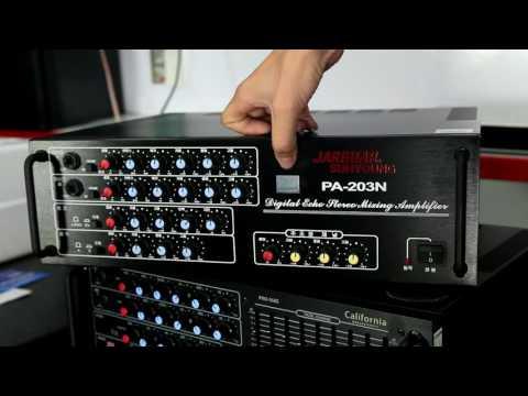 Review Amply Karaoke Jarguar 203N Komi tại Trường ca Audio.