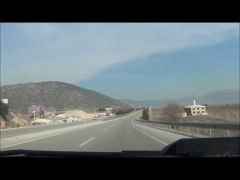 Turkey Road Trip GoPro Time Lapse From Isparta to Burdur- Vlog #06
