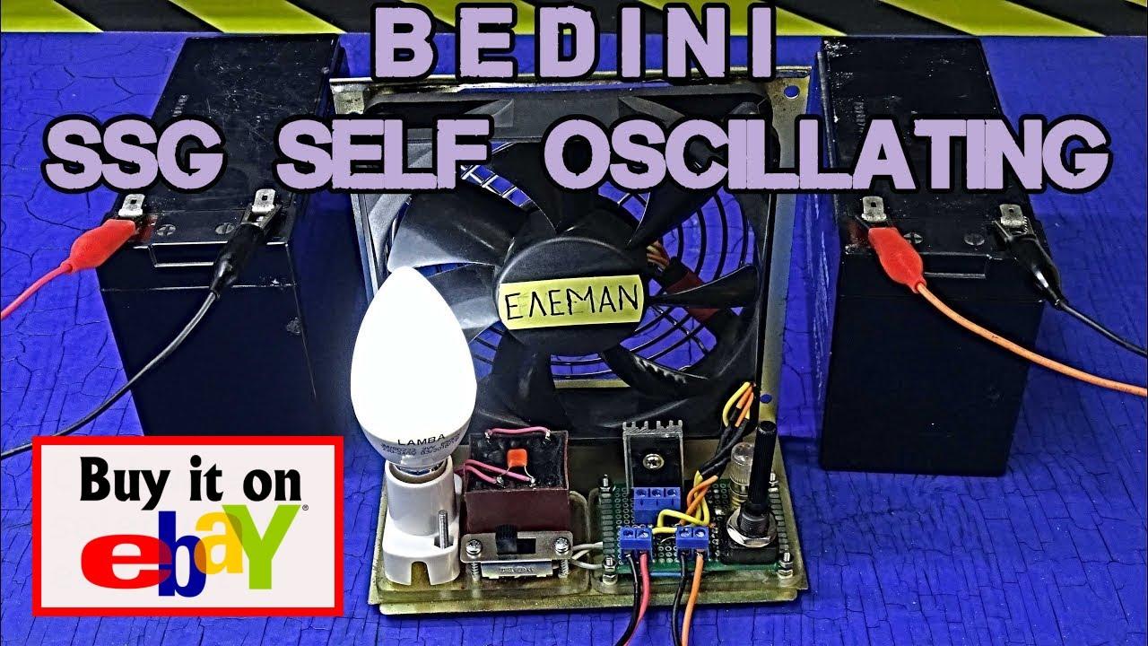 BEDINI SSG SELF OSCILLATING - YouTube