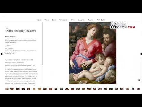 Galería de los Uffizi inaugura exposición virtual sobre San Juan Bautista