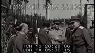 Beria Visits Hitler's Bunker  - 221087-12 | Footage Farm