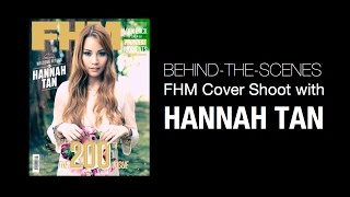 Behind-the-scenes: FHM Malaysia Cover Shoot with Hannah Tan