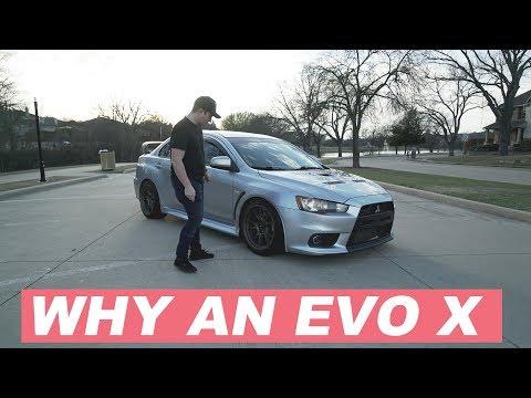 Why I bought a Mitsubishi Evo X (Not an 8, 9 or STi)