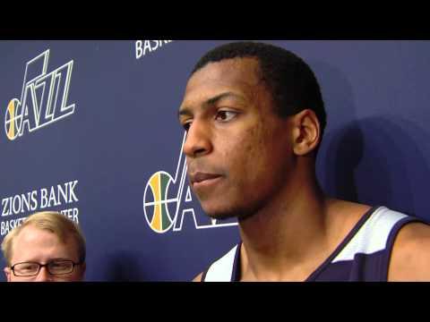 Jonathan Holmes interview - Utah Jazz workout