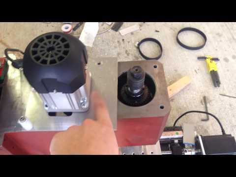 """Epoxy Granite CNC Mill """"Model E"""""""