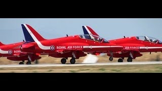 【HD】 RAF Red Arrows Air Show Turkey Türkiye Hava Gösterisi 2011