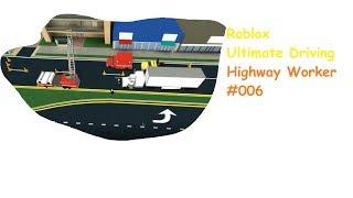Roblox: Ultimate Driving | Highway Worker #006 | Mehr Highway Worker? | [Huski/German]